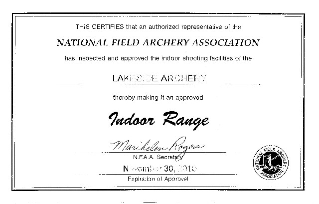 National Field Archery